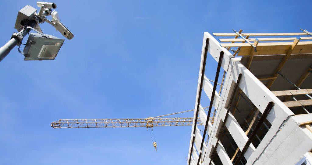 Überwachung Baustelle Kamera