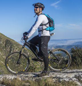 Schutzkleidung beim Mountainbiken