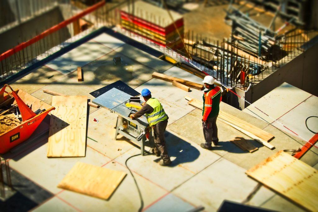 Sicherheitsdienste haben auf Baustellen eine wichtige Aufgabe.