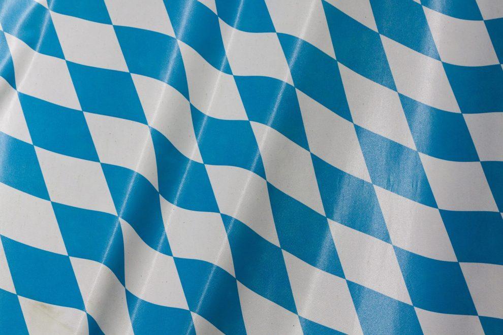 Bayrische Flagge