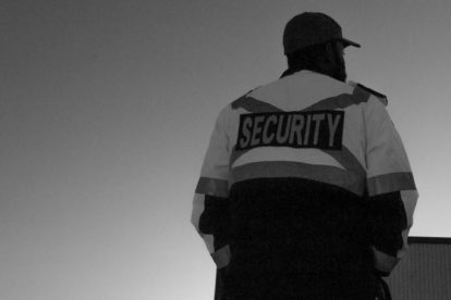 Sicherheitsbranche schwarzarbeit