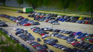 Freilandüberwachung Parkplatz