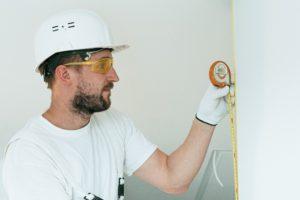 Baustelle Bauarbeiter Schutzkleidung