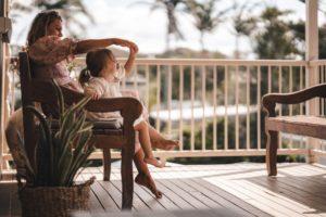 Kinder Balkon