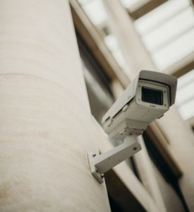 Observation mit Überwachungskamera