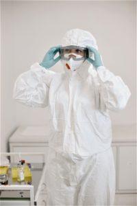 Virenschutzanzug