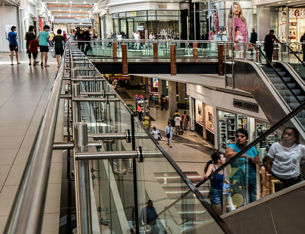 Einkaufszentrum Sicherheitsdienst
